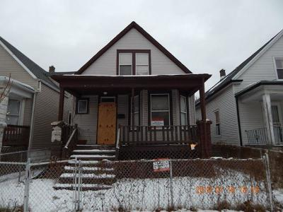 Chicago IL Single Family Home New: $17,900