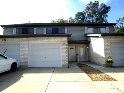 Du Page County Condo/Townhouse New: 324 Brookdale Drive #B
