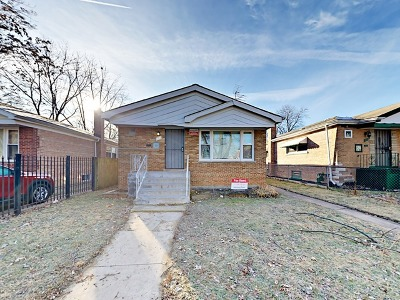 Chicago Single Family Home New: 131 East 119th Street