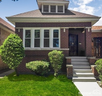 Chicago Single Family Home New: 8622 South Justine Street