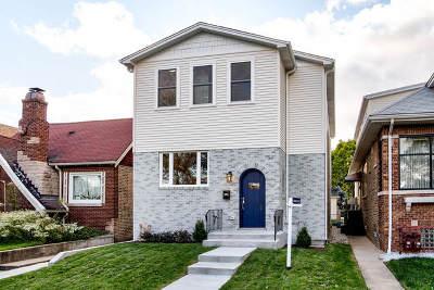 Chicago Single Family Home New: 4240 North Menard Avenue