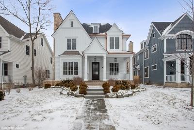 Winnetka Single Family Home New: 1025 Oak Street