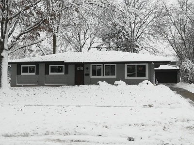 Hoffman Estates Single Family Home For Sale: 1380 Cooper Road