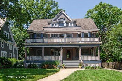 Oak Park Single Family Home New: 423 North Kenilworth Avenue