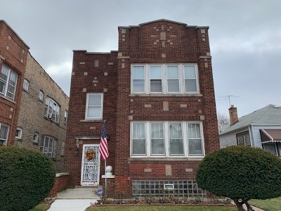 Chicago Multi Family Home New: 117 West 118th Street