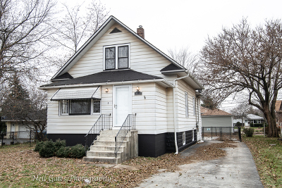 South Holland IL Single Family Home New: $118,700