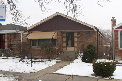 Chicago Single Family Home New: 5136 South Newcastle Avenue