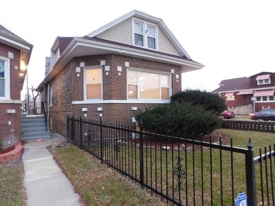 Chicago Single Family Home New: 8057 South Harvard Avenue