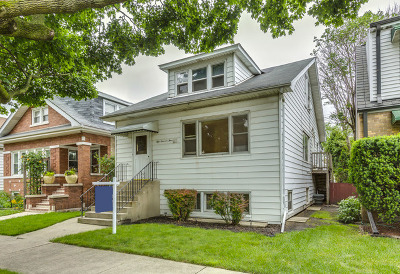 Cook County Single Family Home New: 5904 West Giddings Street