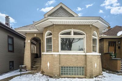 Cook County Single Family Home New: 5824 North Talman Avenue