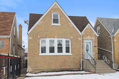 Chicago Single Family Home New: 6154 West Fletcher Avenue
