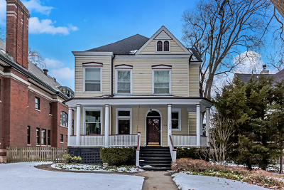 Evanston Single Family Home Price Change: 1006 Forest Avenue
