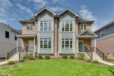 Naperville Condo/Townhouse For Sale: 809 North Center Street