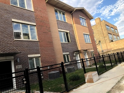 Chicago Condo/Townhouse New: 3527 South Parnell Avenue #B