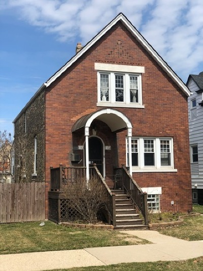 Chicago Single Family Home New: 5014 West Berenice Avenue