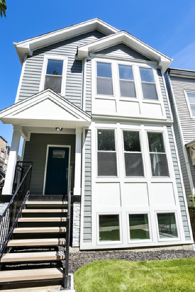 Chicago Single Family Home New: 3753 North Albany Avenue