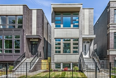 Chicago Single Family Home New: 4618 South Champlain Avenue