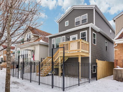 Chicago Single Family Home New: 3422 North Narragansett Avenue
