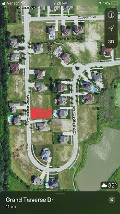 Frankfort Residential Lots & Land For Sale: 20453 Grand Traverse Drive