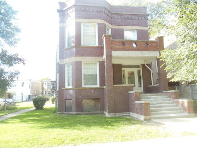 Chicago Multi Family Home New: 7812 South Peoria Street