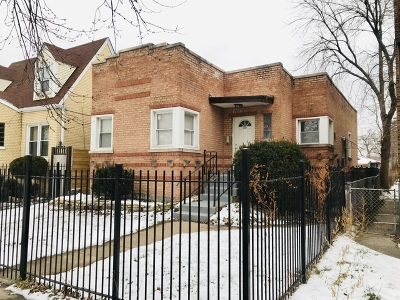 Chicago IL Single Family Home New: $80,000