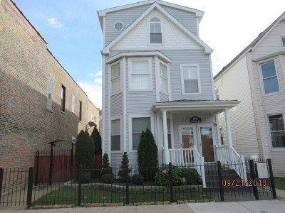 Multi Family Home For Sale: 3703 West Belmont Avenue