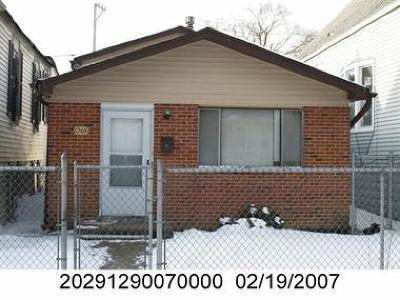 Chicago IL Single Family Home New: $81,000