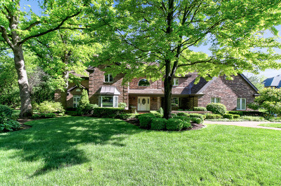 Oak Brook Single Family Home New: 3110 Heritage Oaks Lane