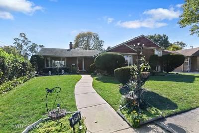 Skokie Single Family Home For Sale: 3919 Brummel Street