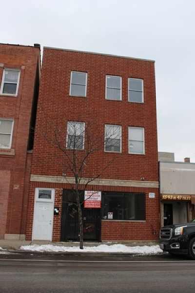 Chicago Commercial New: 1539 West 47th Street