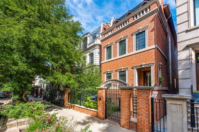 Single Family Home For Sale: 1639 North Burling Street