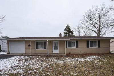 Streamwood Single Family Home New: 22 Edgewood Drive