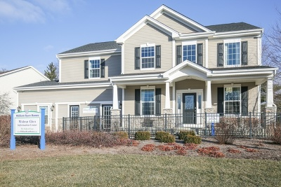 Island Lake Single Family Home For Sale: 2320 Walnut Glen Boulevard