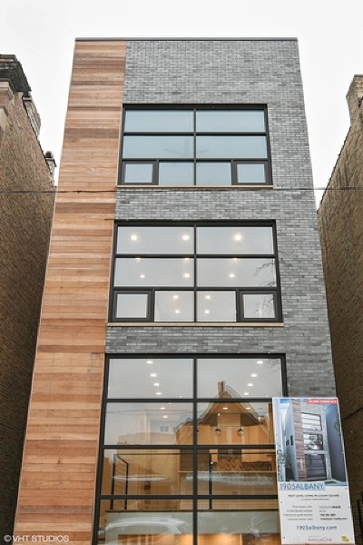 Chicago Condo/Townhouse New: 1905 North Albany Avenue #1