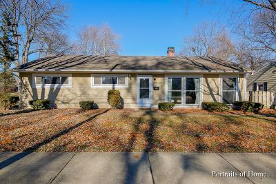 Wheaton Single Family Home For Sale: 705 Dawes Avenue