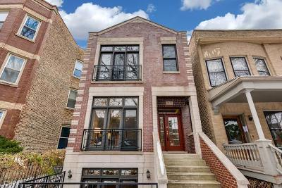 Chicago Single Family Home New: 1830 West Eddy Street