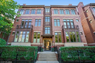 Chicago Condo/Townhouse New: 1249 West Melrose Street #3E