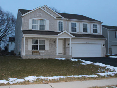 Plainfield Single Family Home Contingent: 6407 Valley Ridge Drive