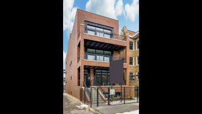 Chicago Condo/Townhouse New: 1470 West Balmoral Avenue #3