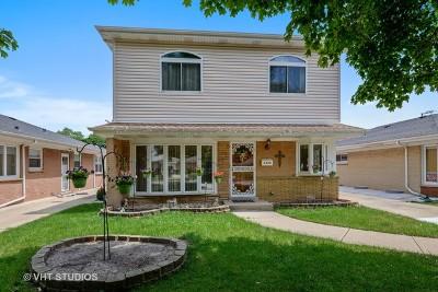 Chicago Single Family Home New: 6229 North La Crosse Avenue