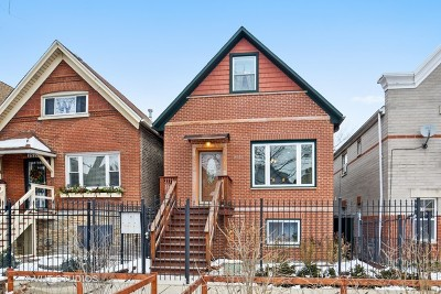 Chicago Single Family Home For Sale: 2526 West Haddon Avenue