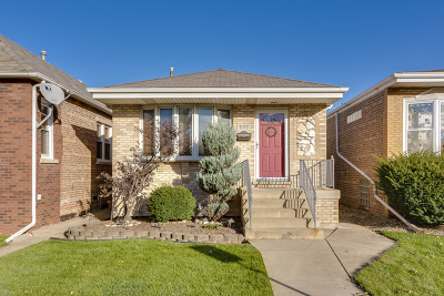 Chicago Single Family Home New: 5117 South Rutherford Avenue