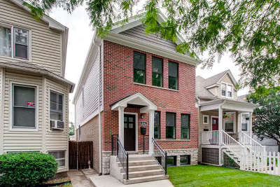 Chicago Single Family Home New: 4343 North Hamlin Avenue