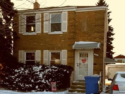 Chicago Single Family Home New: 3104 North Octavia Avenue