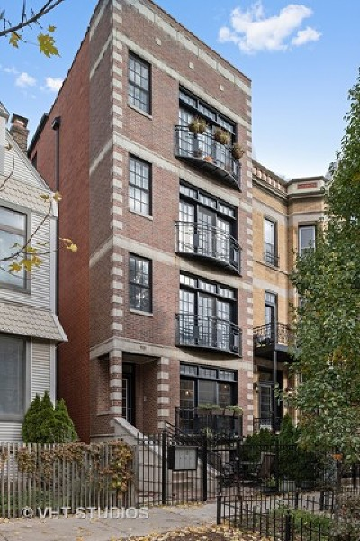 Chicago Condo/Townhouse New: 910 West Roscoe Street #1