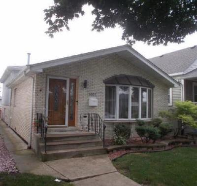 Chicago Single Family Home New: 5807 South McVicker Avenue