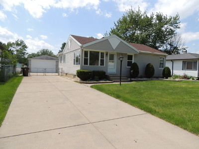 Tinley Park Single Family Home New: 16912 Forest View Drive
