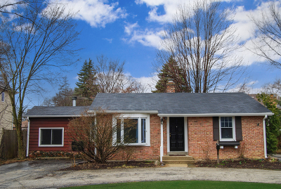 Glenview Single Family Home For Sale: 812 Greenwood Road