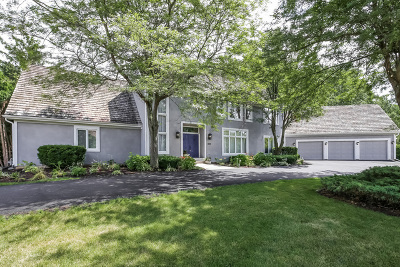 Lake Forest Single Family Home For Sale: 899 Lakewood Drive