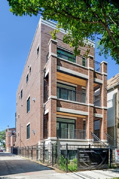 Cook County Condo/Townhouse New: 2414 North Janssen Avenue #1